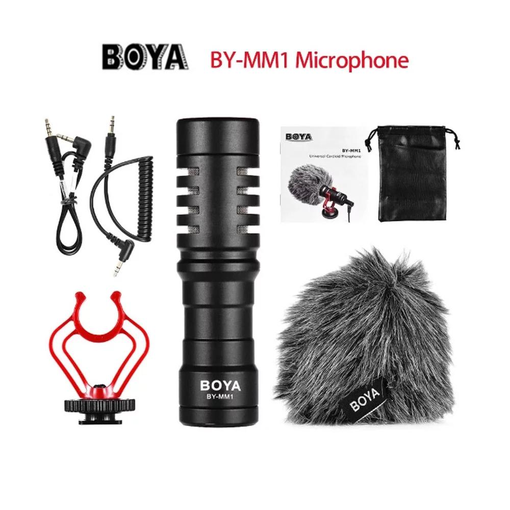 Buy Sell Cheapest Tenstar Boya By Best Quality Product Deals M1 Clip On Mic Microphone For Canon Nikon Sony Dslr Camera Kamera Universal Video Camcorder Iphone Mm1 Cardioid Shotgun Handphone