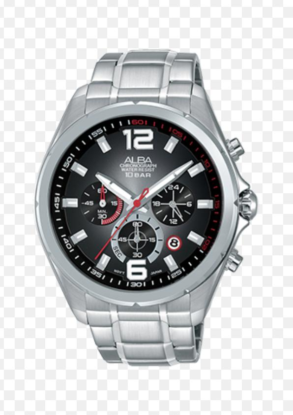 Alba AT3B53X1 Chronograph Men Dual Color Dial Stainless Steel Strap