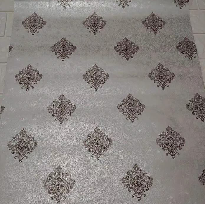 Wallpaper batik maroon 45cm x 10m