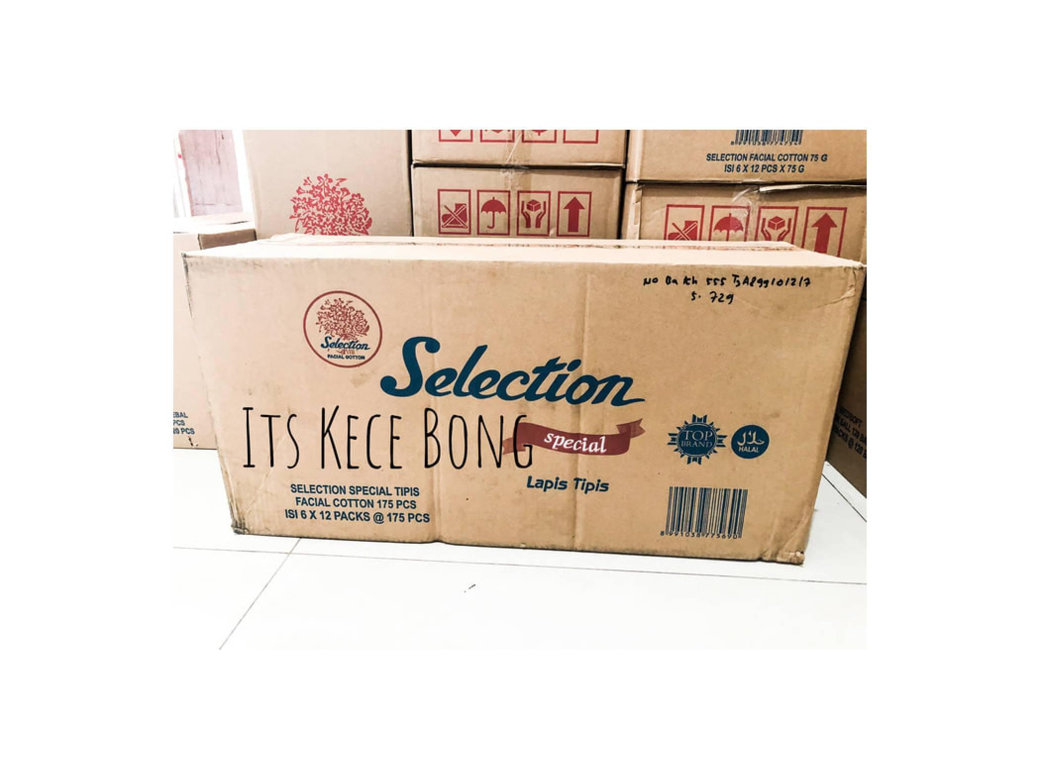 Selection Facial Cotton Kapas Wajah 75 Gram 6 Pcs Half Dozen Spec Kecantikan 35g Special Lapis Tipis Cottonidr1216000 Rp 1216000