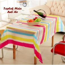 [ SALUR ] Taplak Meja Anti Air (Tampilan meja jadi cantik) / Taplak Meja