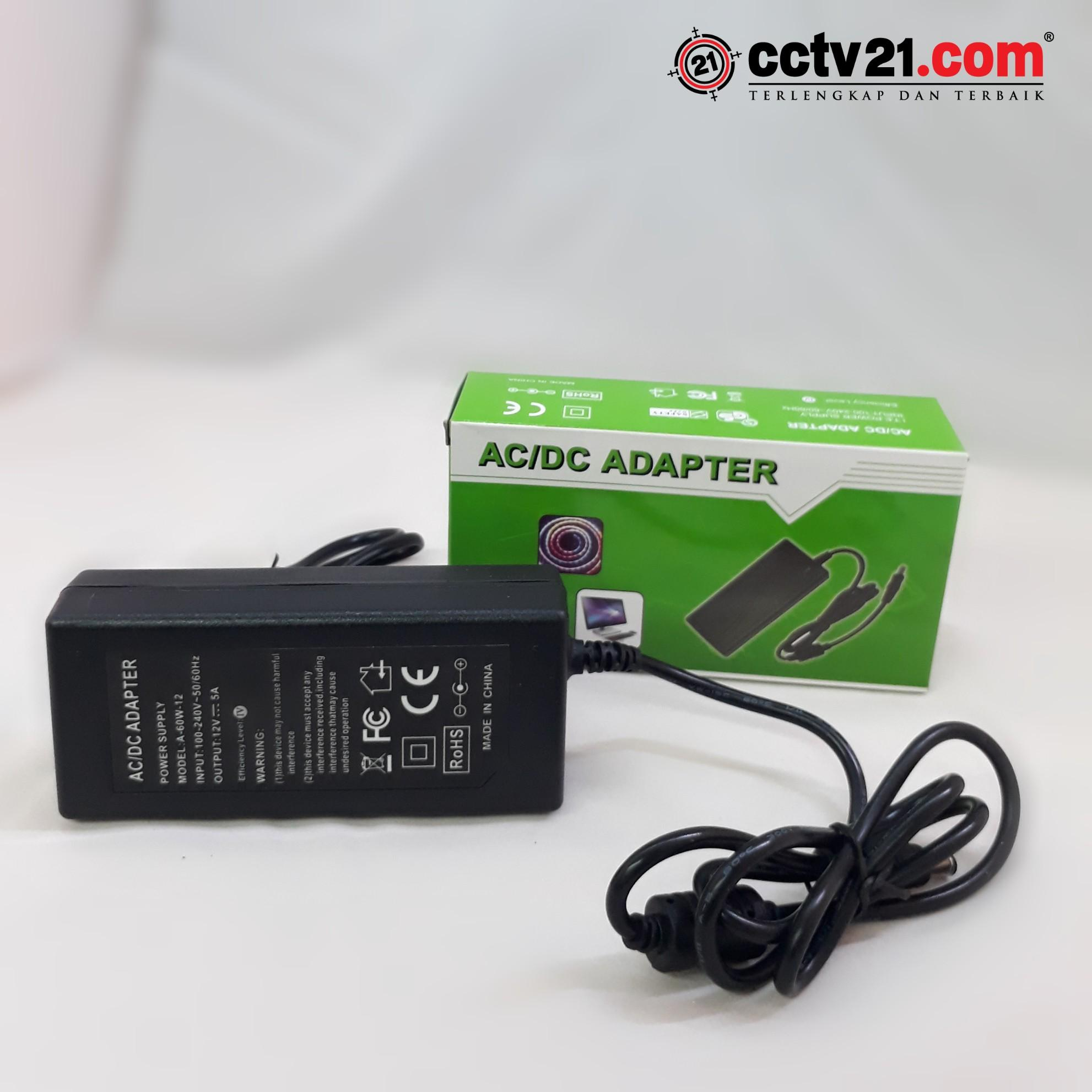 Adaptor CCTV HD IP CAMERA DC 12V 5Ampere