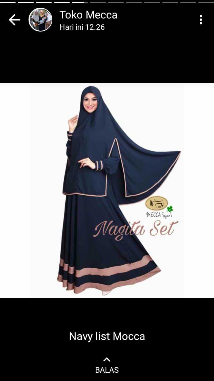 baju terbaru syari muslimah bahan bagus jahitan rapi harga murah