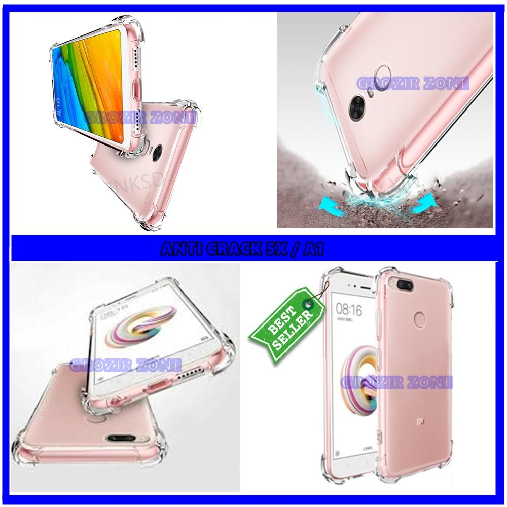 Back Case Soft Jacket / Anti Crack Xiaomi Redmi Mi 5X / Mi A1 - Bahan Lebih Bagus ( grozir zone )