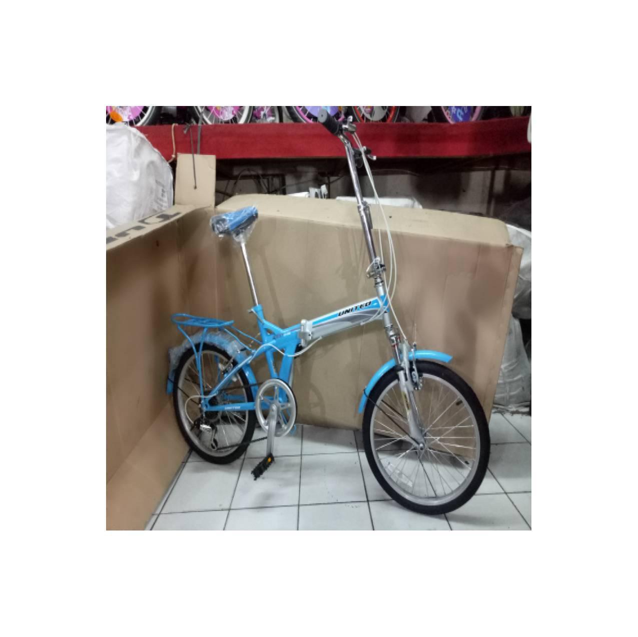 sepeda anak 20 lipat united quest cl 02 boncengan
