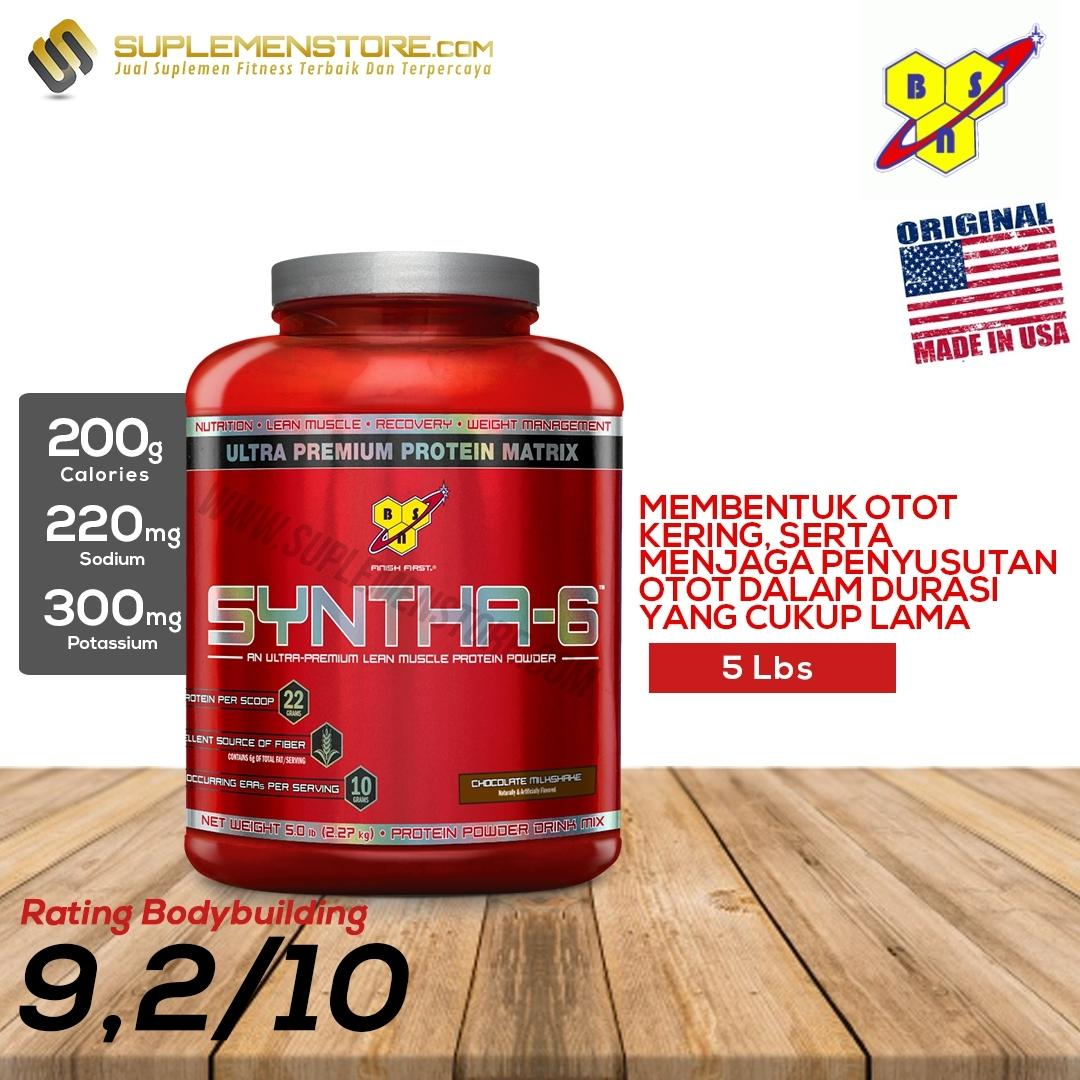 BSN Syntha 6 Cokelat - 5 lb / Syntha-6 5lbs / Whey Protein