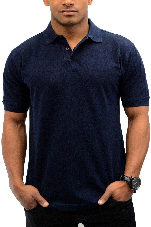 Kaos Polo / Polo Lacoste / Polo Shirt Cotton Pique - Biru Dongker / Navy