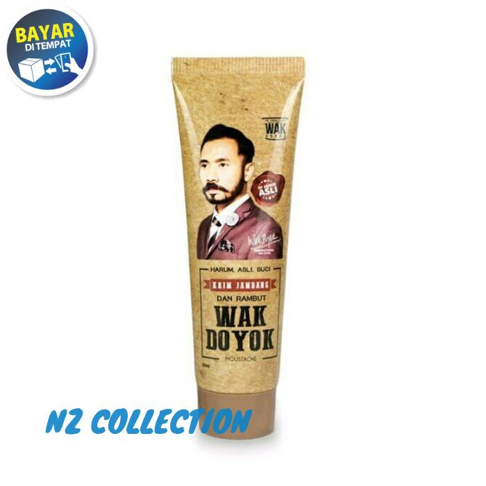 Terlaris Wak Doyok Cream 30ml Original Hologram - Wakdoyok Krim Penumbuh Jambang By Nz Collection.