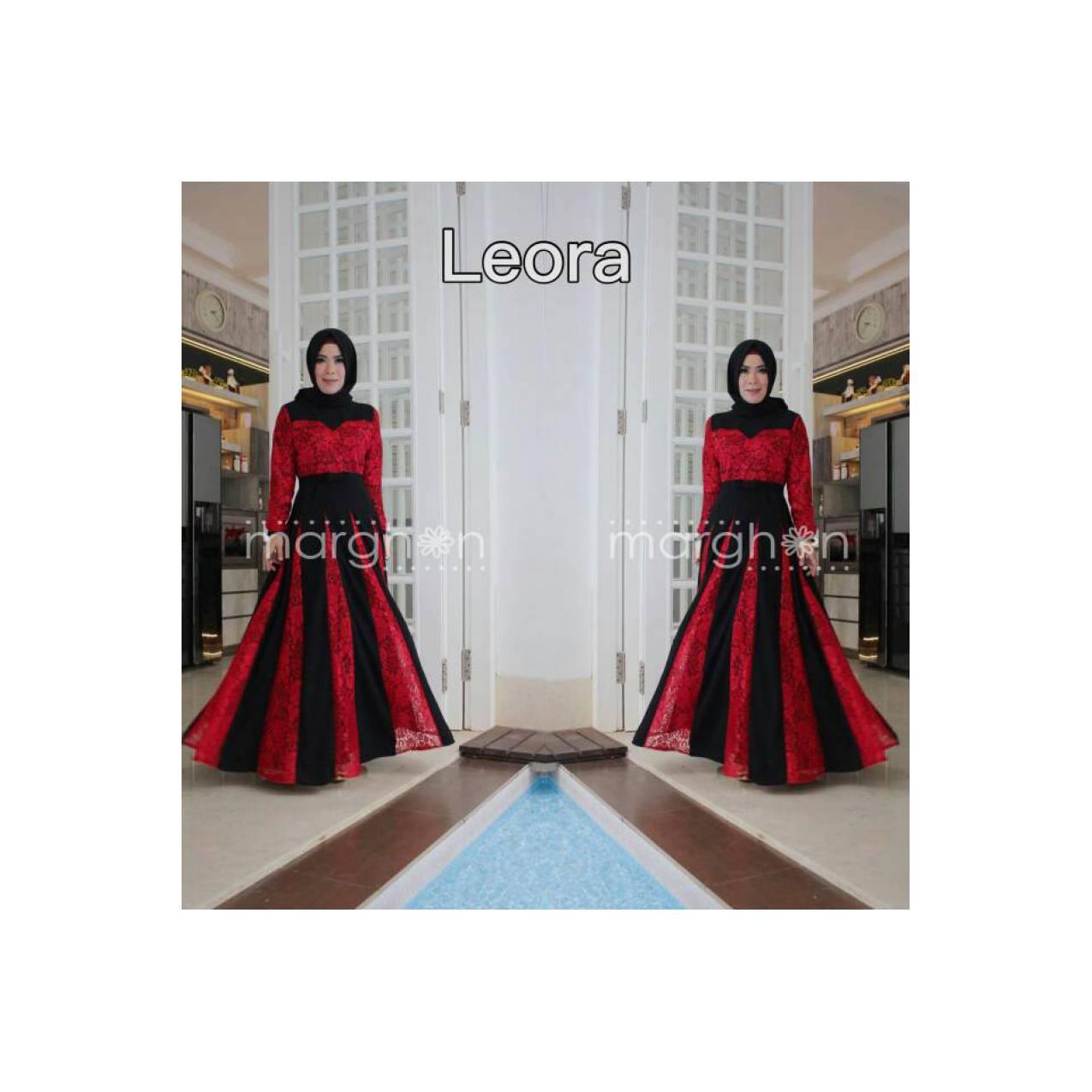Gamis busana muslim merk bungas all size