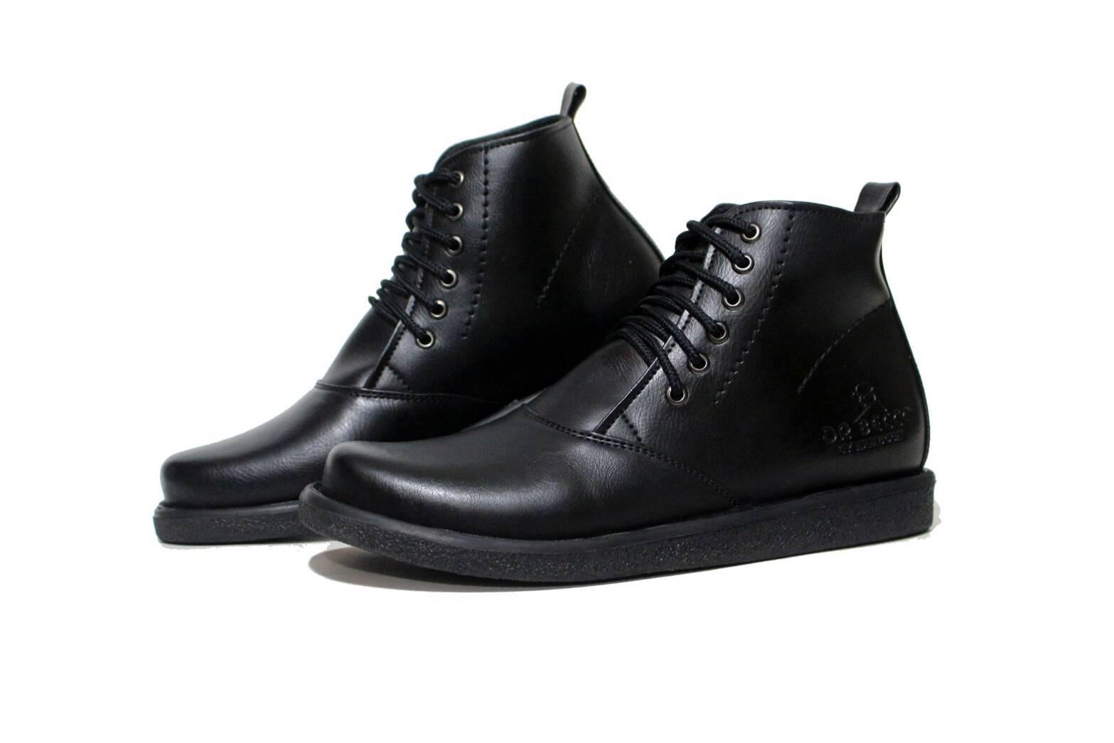 sepatu brodo kulit asli original Dr becco Sepatu Boots Kulit Pria Original Dr.Becco - Sepatu Boots Pendek