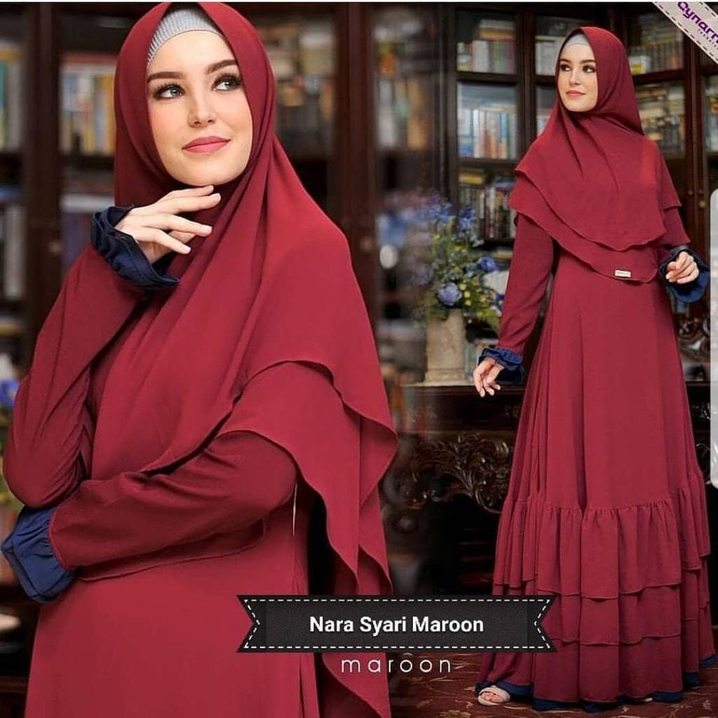 Jual  Murah Dress Murah/Grosir Dress Murah/NARA SYARI VG001