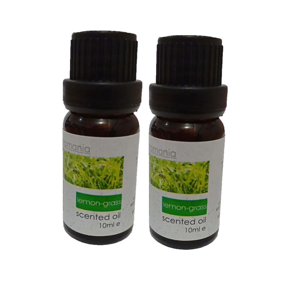 Aiueo Humidifier Lemon Grass Essential Aromatherapy Oil 10ml - Isi 2