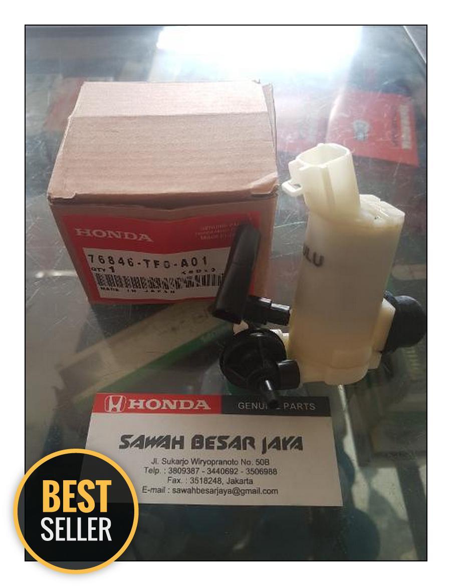 Motor Pump Washer atau Pompa Air Wiper Honda Jazz RS GE8 Brio Mobilio Freed HRV BRV