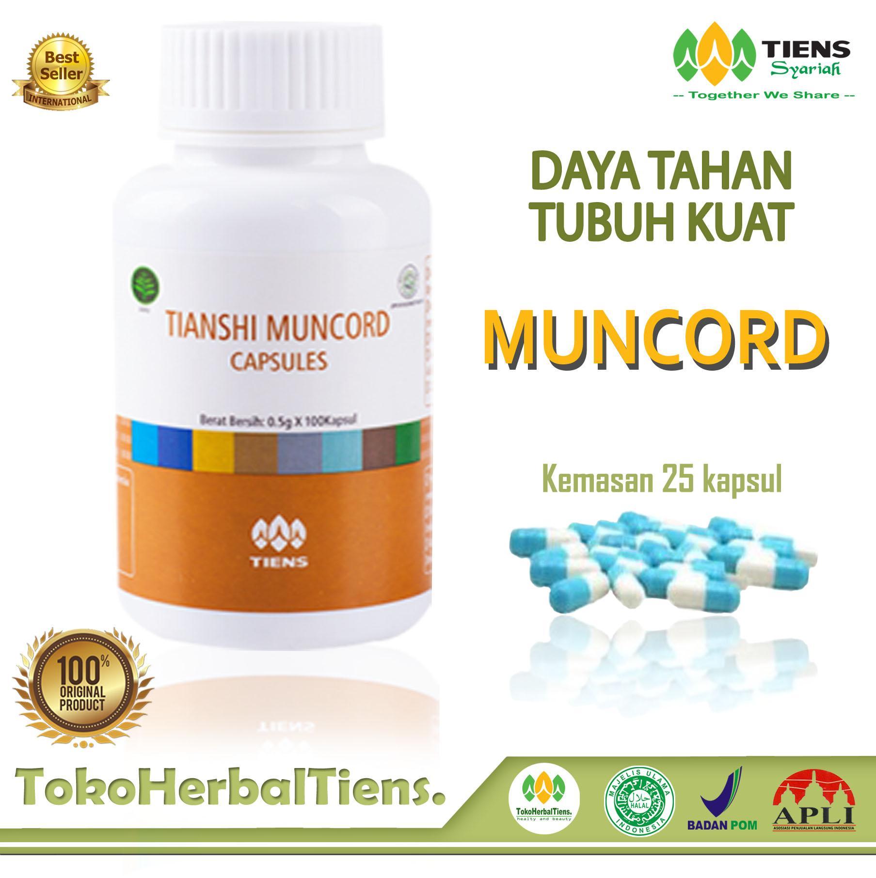 Tiens muncord capsules – meningkatkan daya tahan tubuh dan mengobati berbagai penyakit berbahaya