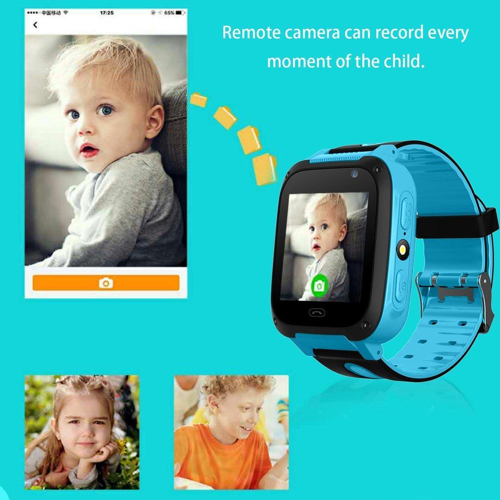 Chunnuan Smart Jam Anak Lbs Pelacak GPS SOS Call Kamera Jarak Jauh 1.44