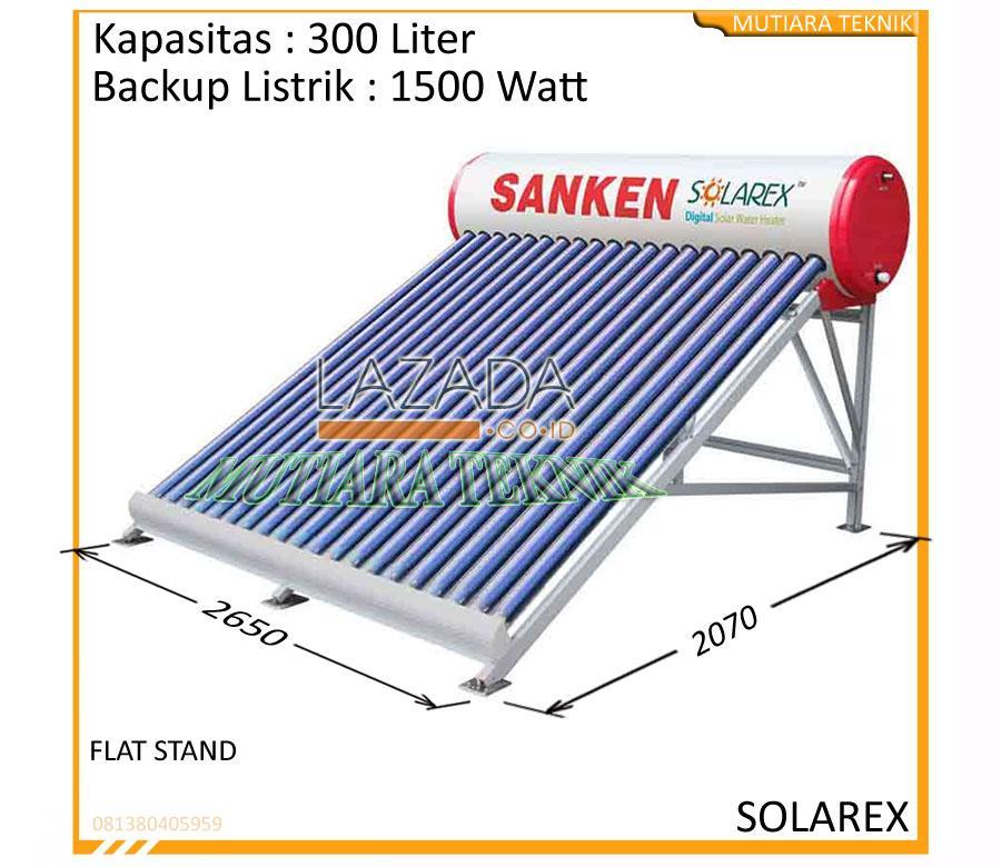 PEMANAS AIR TENAGA MATAHARI SANKEN SOLAR WATER HEATER SWH-PR300L/P