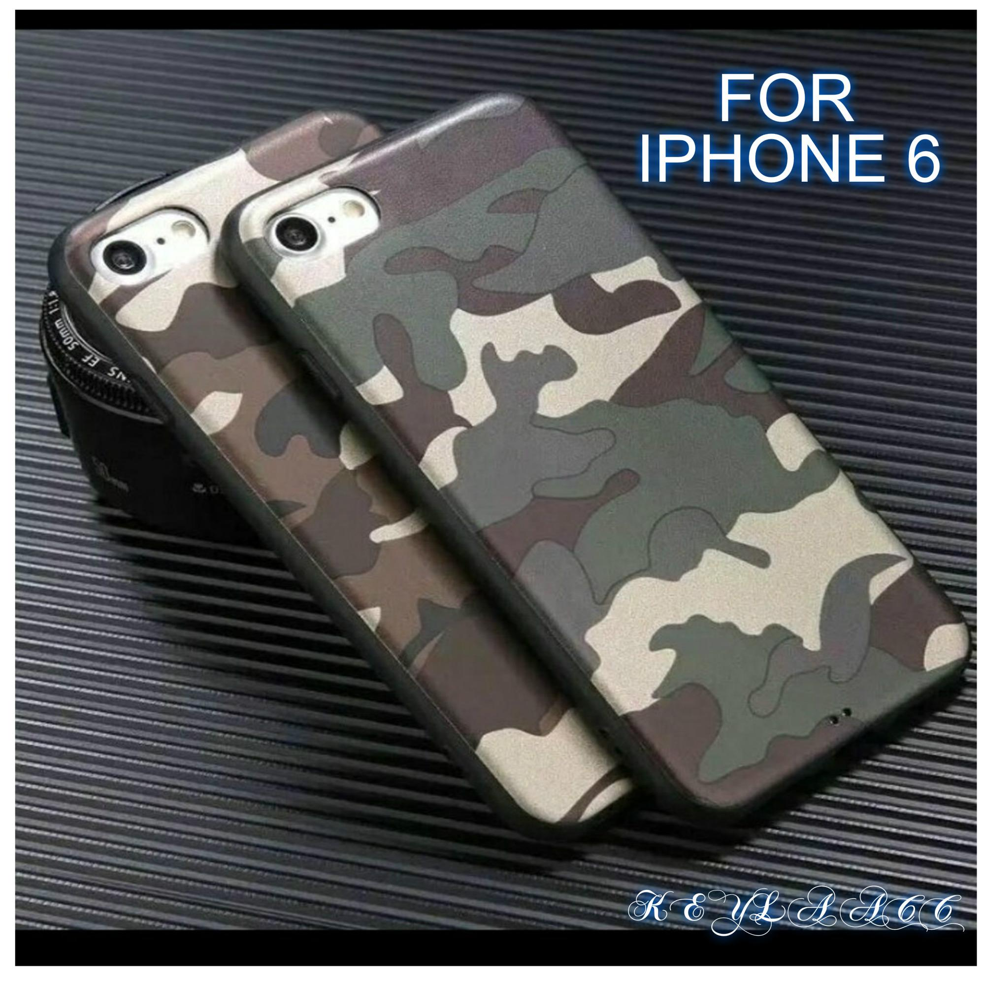 Softcase case Army Loreng FOR IPHONE 6