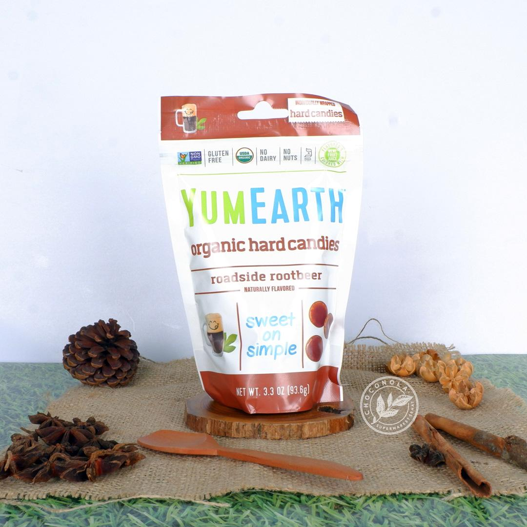 YumEarth Organic Hard Candies Roadside Rootbeer