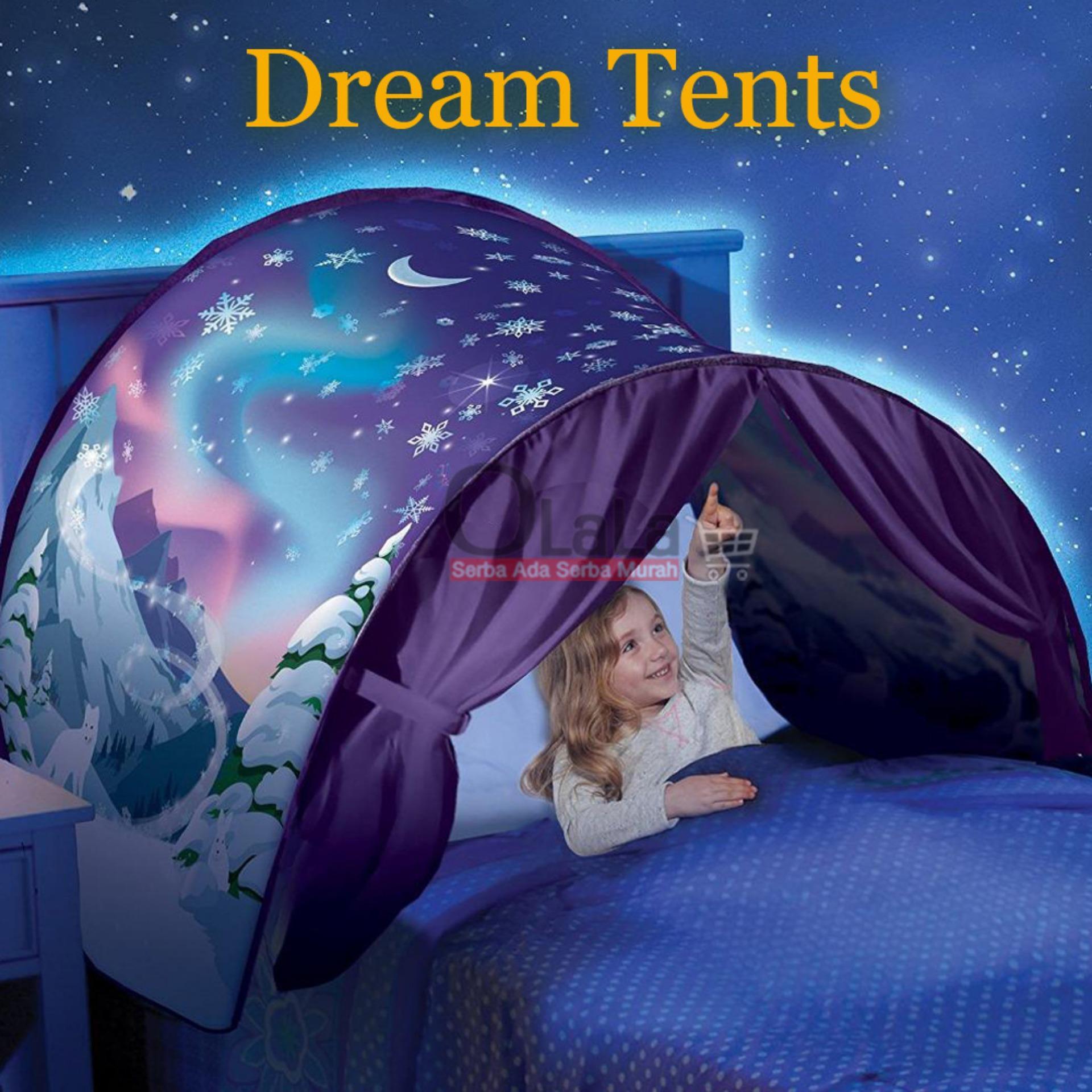 Tenda Anak Dream Tents / Tenda Tempat Tidur Anak Lx-907 By Olala Jakarta