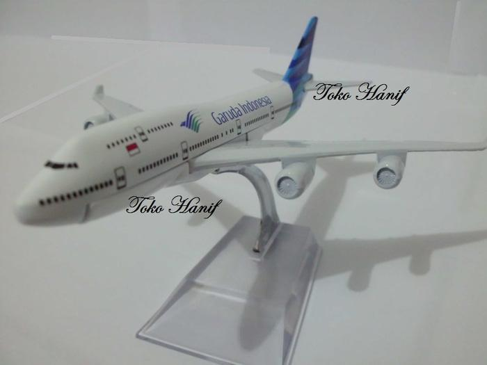 PROMO Diecast Miniatur Replika Pesawat Garuda Indonesia TERLARIS BERKUALITAS