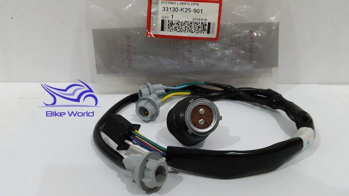 TERLARIS!!! Fitting / Soket Lampu Beat Fi 33130-K25-901 Genuine Astra Honda Motor SEDIA JUGA Lampu tumblr - Lampu led - Lampu sepeda - Lampu hias