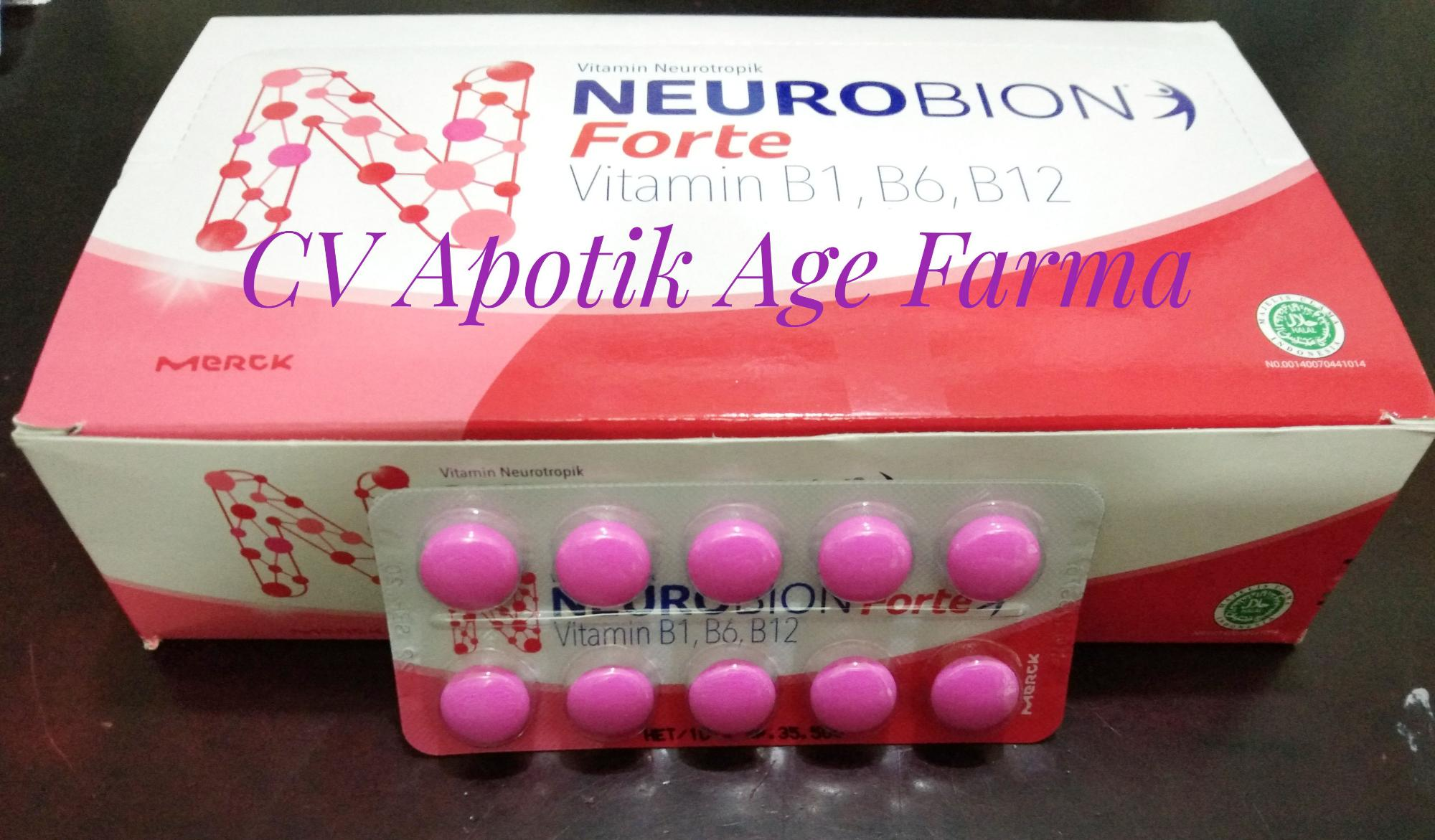 Neurobion Forte Tablet Jual per strip 10 butir Merck