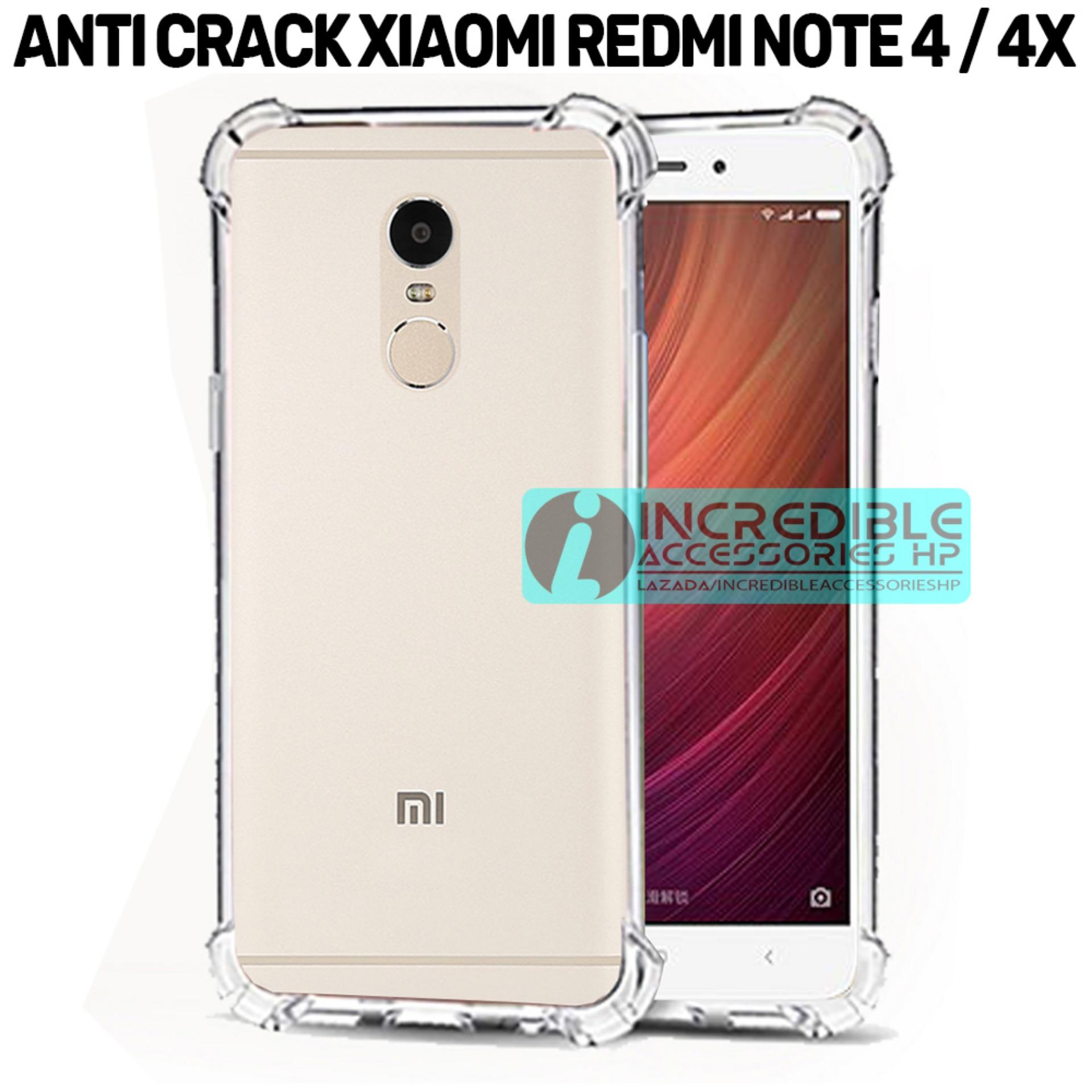 Softcase Silicon Anti Shock / Anti Crack Elegant Softcase  for Xiaomi Redmi Note 4 Snapdragon - White Clear