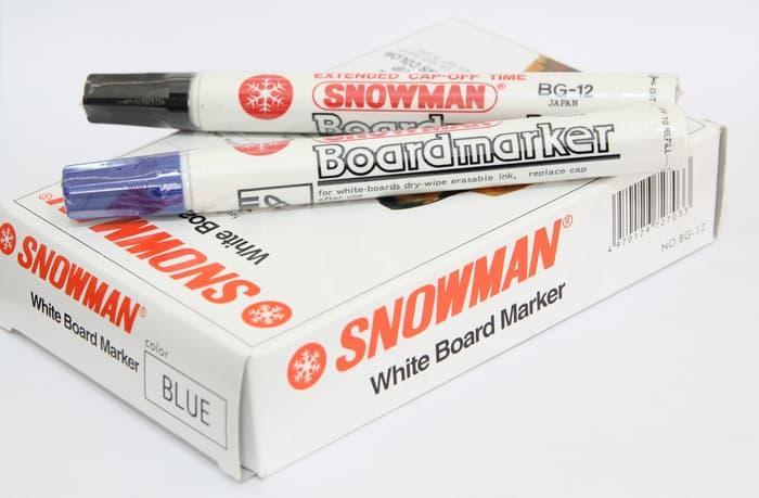 Spidol Snowman Warna Biru