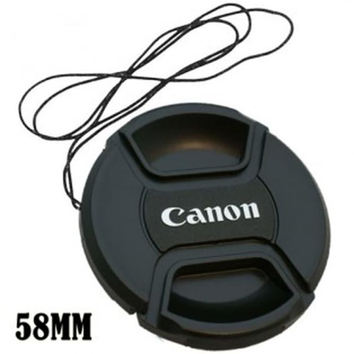 Promo Lens Cap   Tutup Lensa Kamera Canon 58 mm original