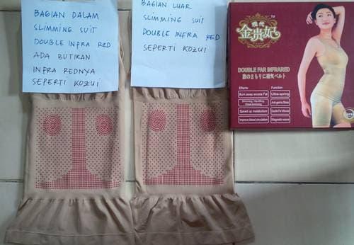SALE - SLIMMING SUIT BOX MERAH ASLI KOREA BAJU KORSET PELANGSING KUALITAS SAMA DG KOZUI (HATI2