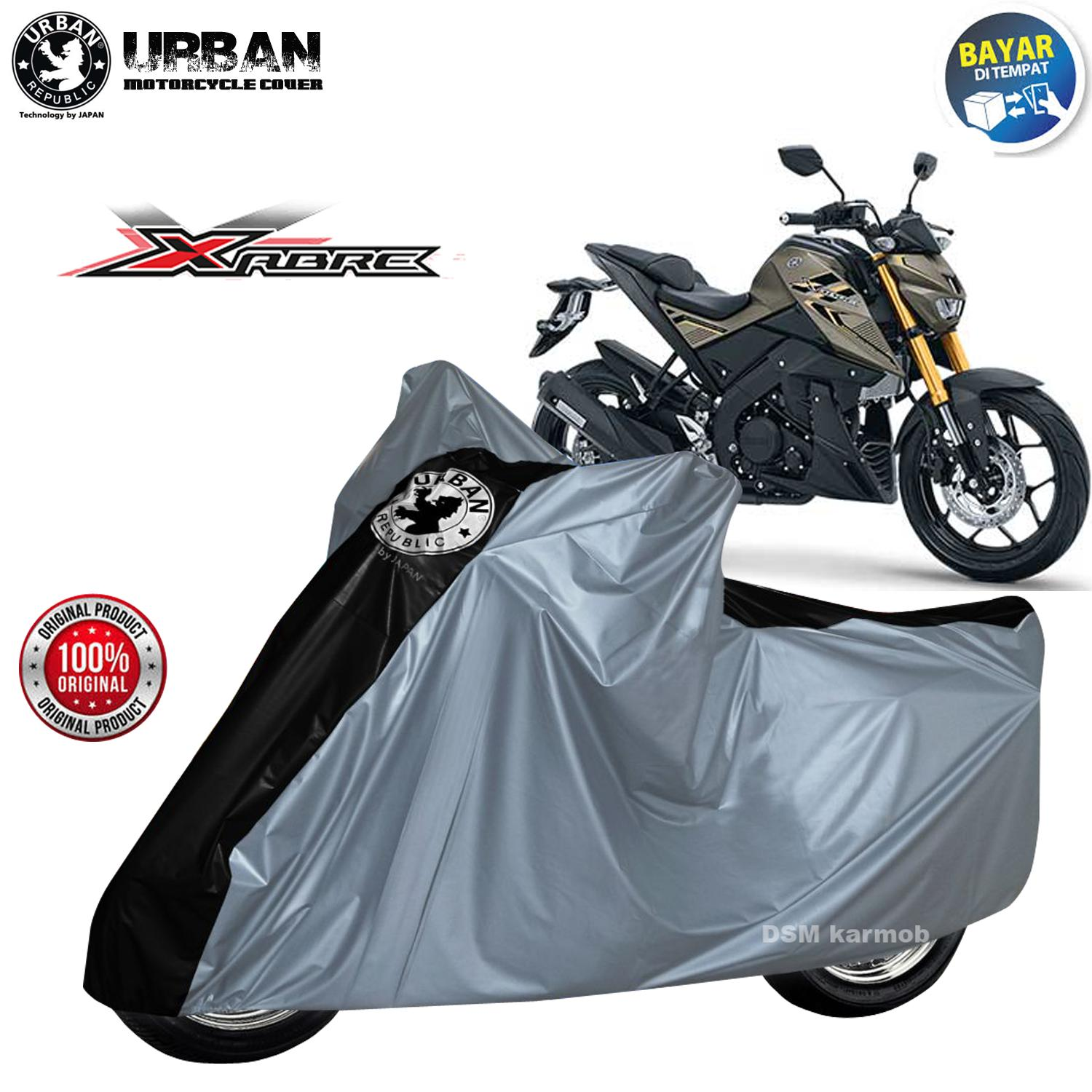 Urban / Cover Motor Yamaha Xabre / Body Cover Yamaha Xabre / Tutup Motor Xabre / Tutup Body Motor Xabre / Sarung Motor Xabre / Selimut Motor Xabre / Asesoris Motor Xabre / DSM / Karmob - Urban Cover Motor Jumbo