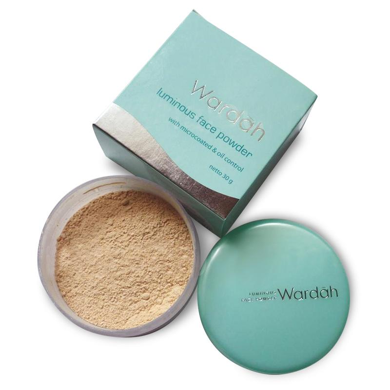 Wardah Everyday Luminous Face Powder - Bedak Tabur - 01 Light Beige