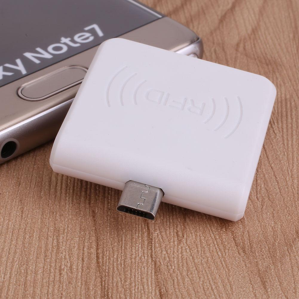 Zada Lebih 125 KHz Mni USB RFID EM4100 Pembaca untuk Android Ponsel dengan OTG Tahan Lama Panas Baru