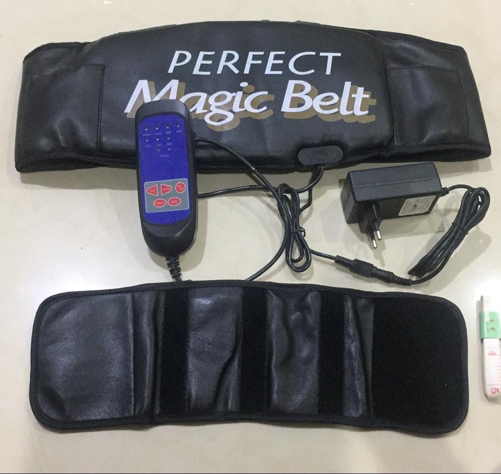 Vibraction Slimming Perfect Magic Belt Massager Alat Kesehatan/Alat Terapi/Akupuntur Pelangsing Per