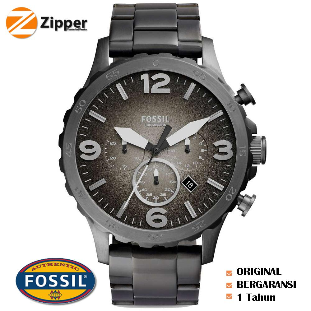 Buy Sell Cheapest Fossil Sl7653751 Logam Best Quality Product Fs4552 Jam Tangan Pria Original Tali Jr1437 Nate Chronograph Smoke Stainless Steel