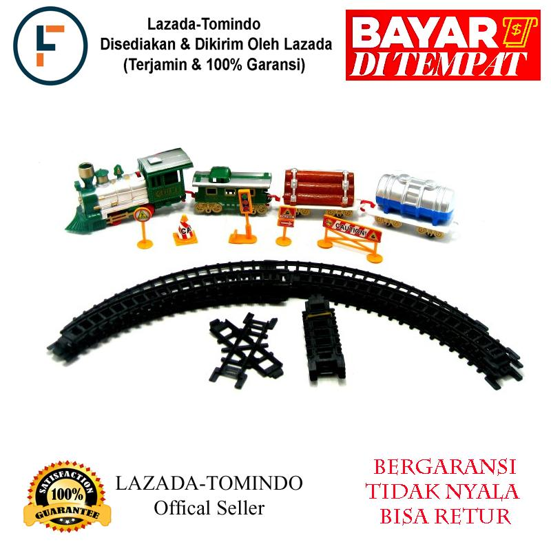 Tomindo Mainan Kereta Power Train Set / Mainan Anak / Mainan Bayi / Kereta Api By Tomindo.