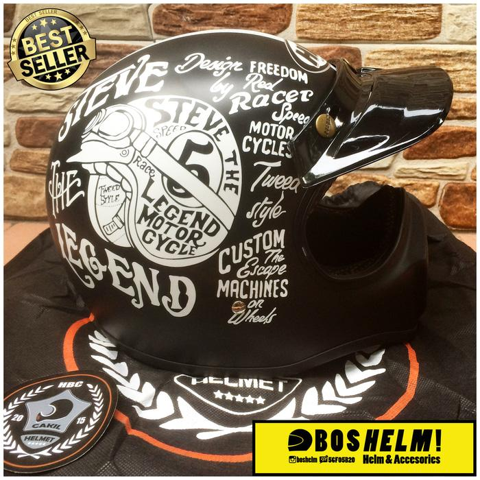 Helm Cakil HBC Murah || helm kyt / helm bogo / helm full face / helm ink / helm sepeda /helm motor/helm nhk/helm retro/helm anak/helm gm