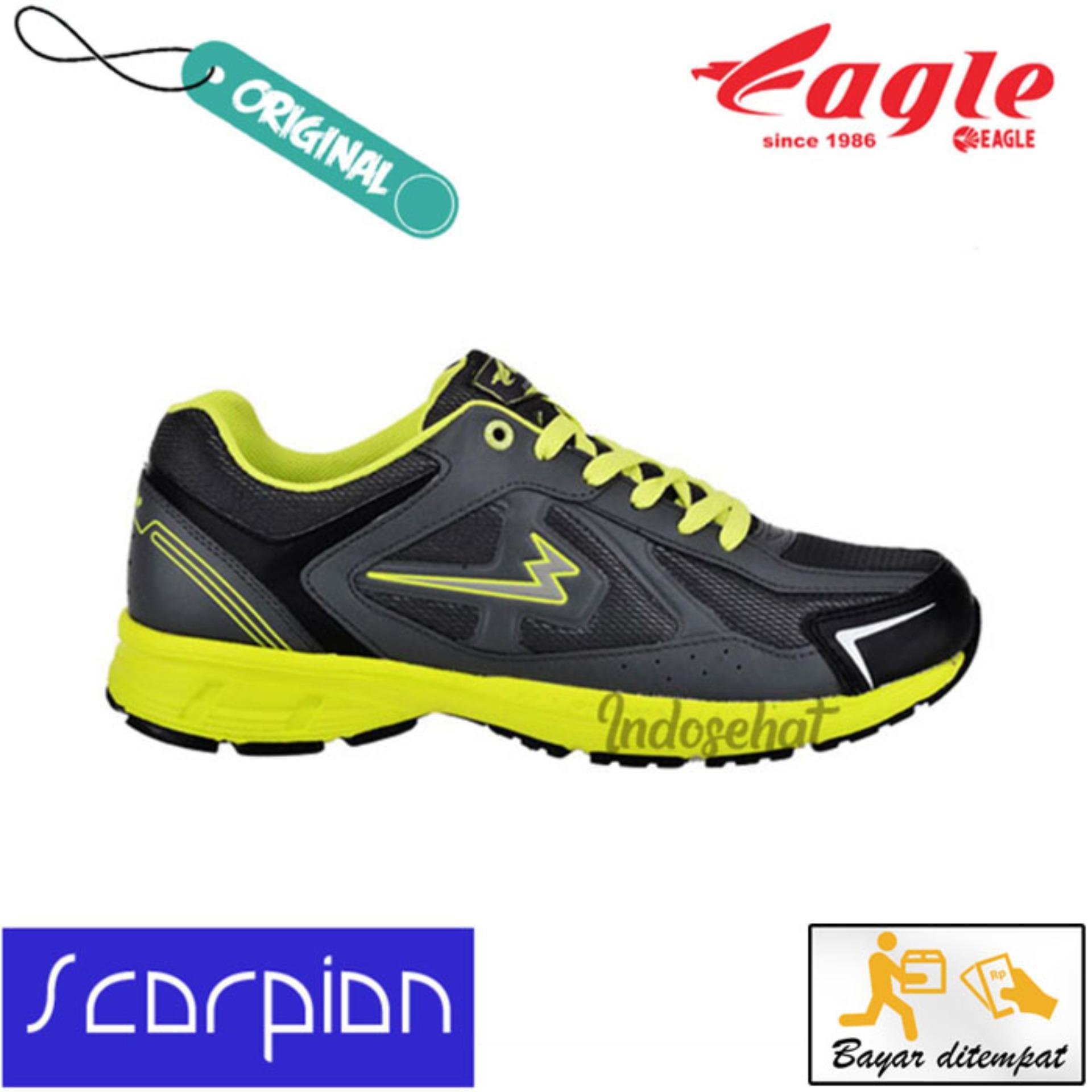 Informasi Harga Terbaru Sepatu Lari Eagle Bulan November 2018 Jasmine Running Wanita Blue Citroen 41 Scorpion