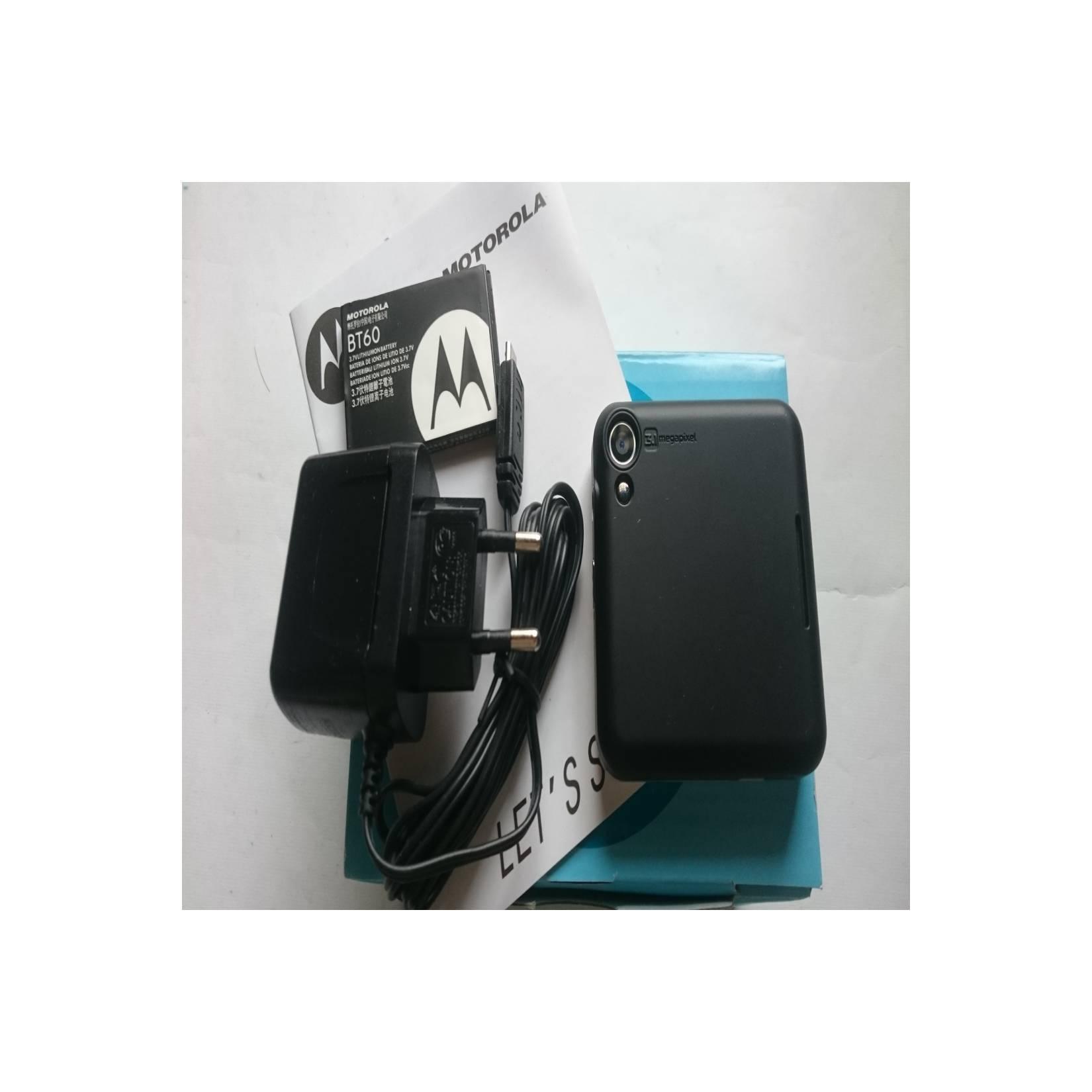 Motorola FlipOut - Flip Out MB511 Licorice Hitam - HP Jadul Original