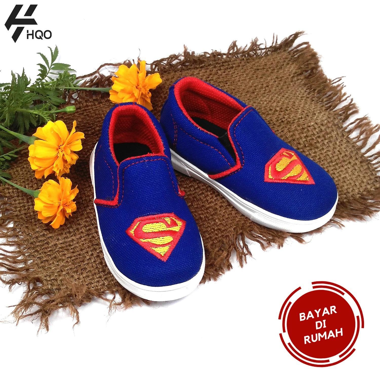 HQo Sepatu Anak Laki - Laki Slip On   Sepatu Anak Cowok   Sepatu Anak Casual 63aea8dd2d