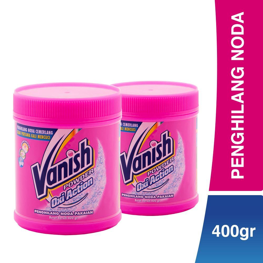 Vanish Penghilang Noda Oxi Action Powder (400 gr) x 2