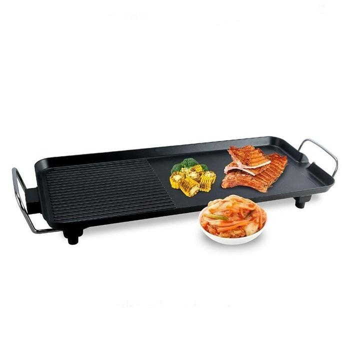 Graha FE Electric Flat Grill Pan - Panggangan Datar Listrik Oxone OX-137