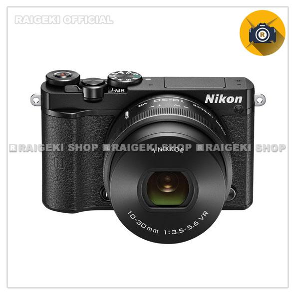 Nikon 1 J5 Kit 10-30mm Kamera Mirrorless [20.8 MP] Hitam Free Screnguard Terpasang