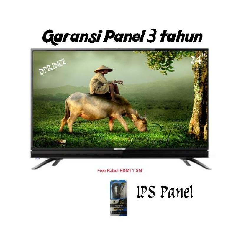 COOCAA 24D1A USB MOVIE HARD PANEL LED HD TV - 24inch [free kabel HDMI]
