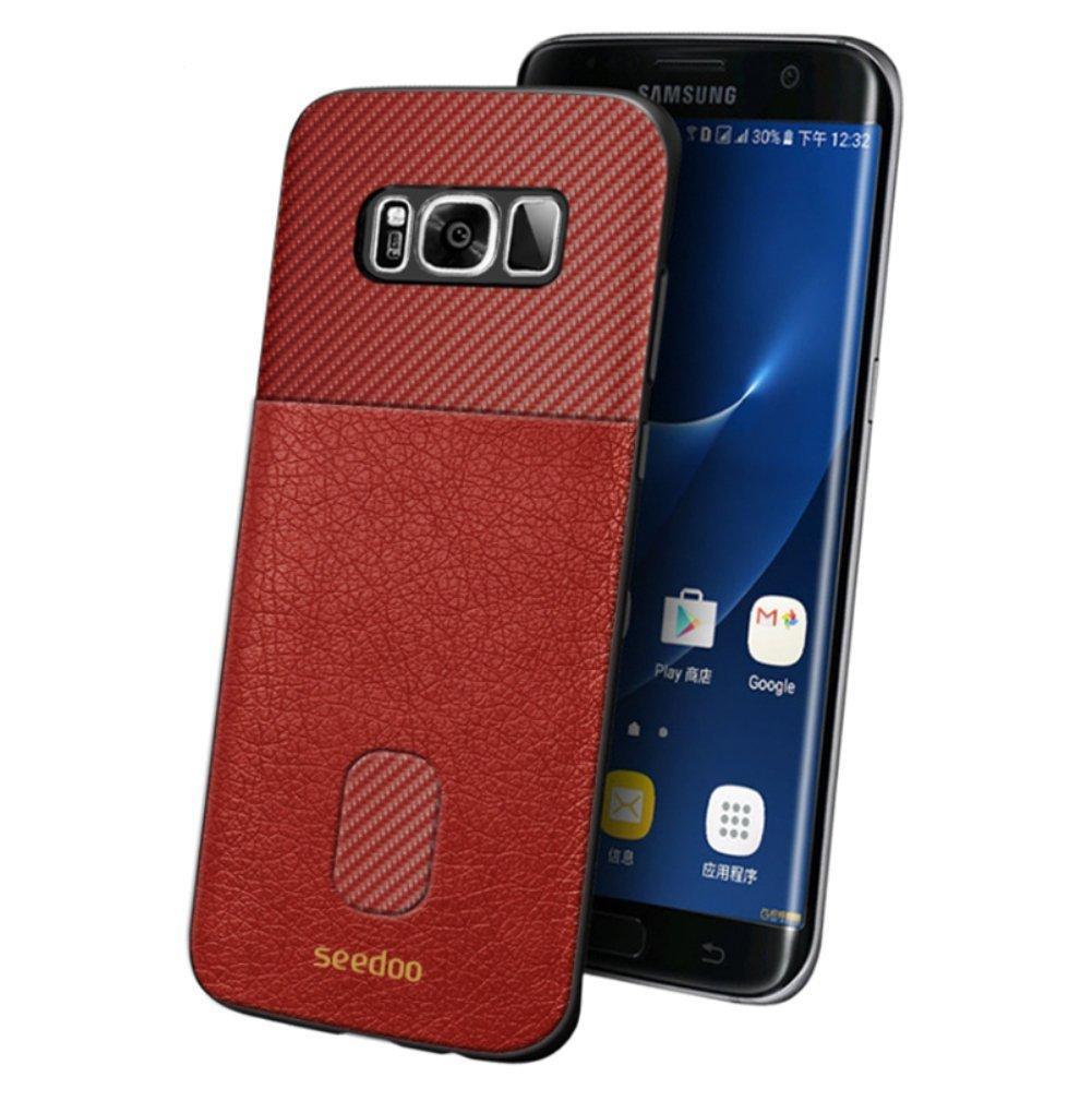 Seedoo Galaxy S8 Case Honor  Red