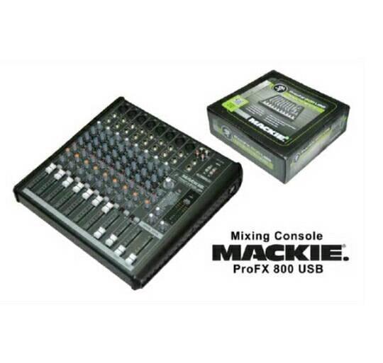 ORIGINALS  Mixer Mackie Profx 800 Usb 8 mono