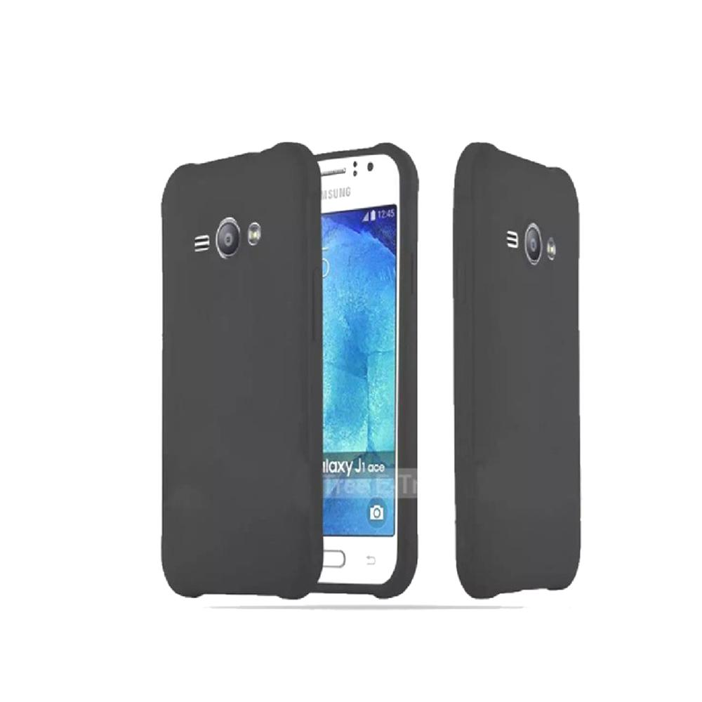 Case Slim Black Matte For Samsung Galaxy J1 Ace  Baby Skin Softcase silikon Ultra Slim