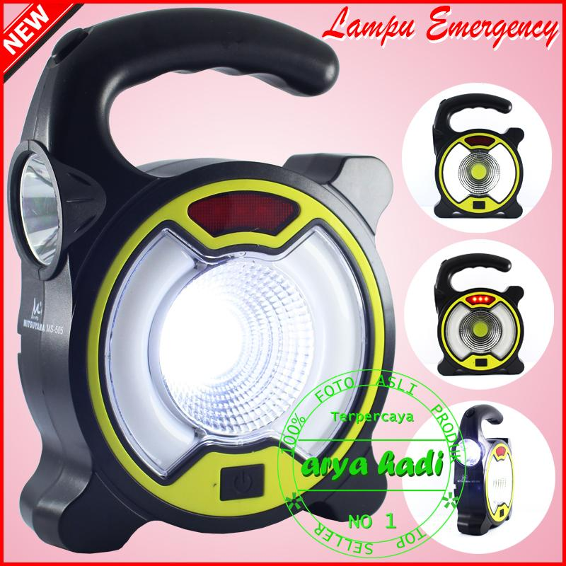Lampu Emergency Mitsuyama MS-505 4 Mode Lampu Beserta Senter LED COB Super Terang