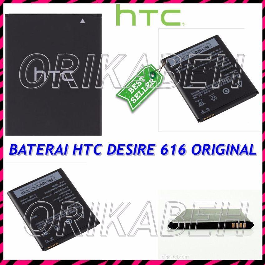 HTC Baterai / Battery HTC Desire 616 BOPBM100 Original - Kapasitas 2000mAh ( orikabeh )