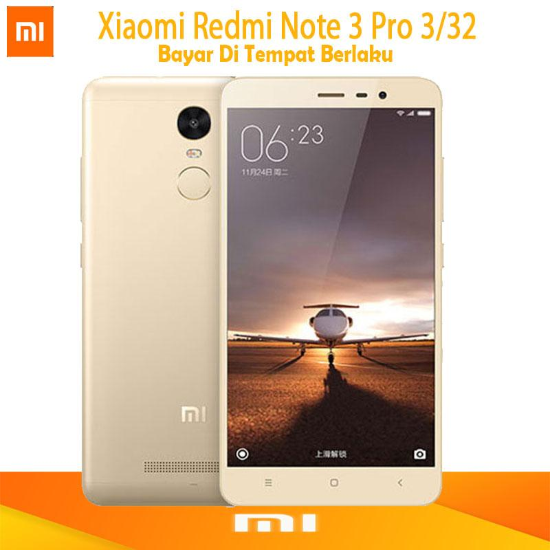 Xiaomi Redmi Note 3 Pro - Ram 3GB/32GB - ( B.Indonesia & Redy Playtore )